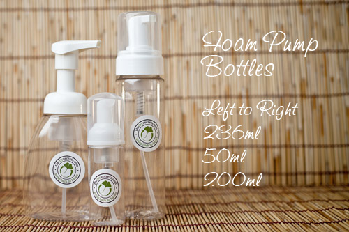 Post image for Our Foam Pump Bottles Are Now Available