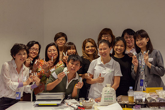 Post image for Lip Balm And Soap Nuts Hands-On Workshop At SPH