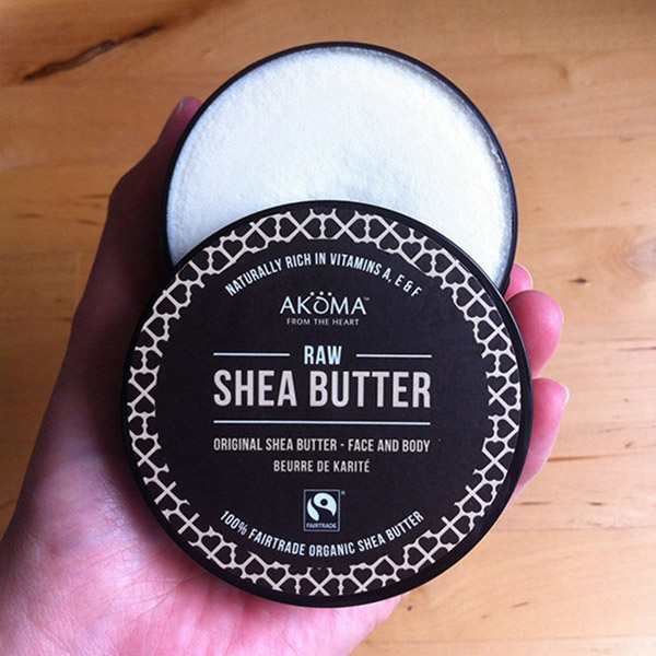 organic and unrefined shea butter