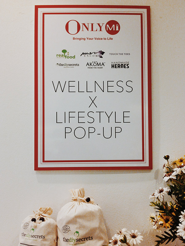 Isetan wellness and lifestyle pop up