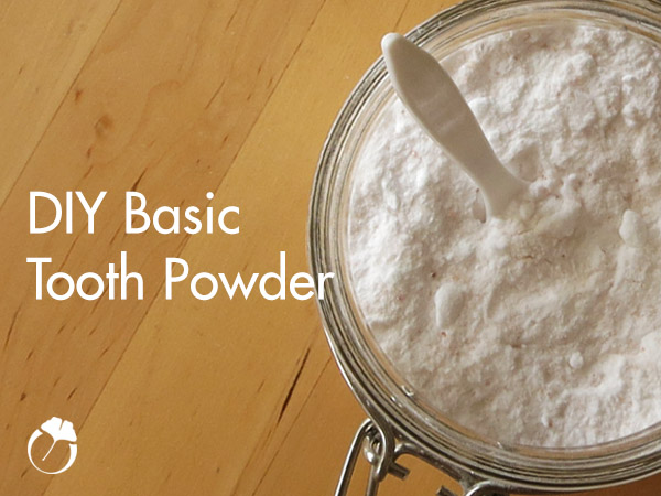 DIY Basic Tooth Powder