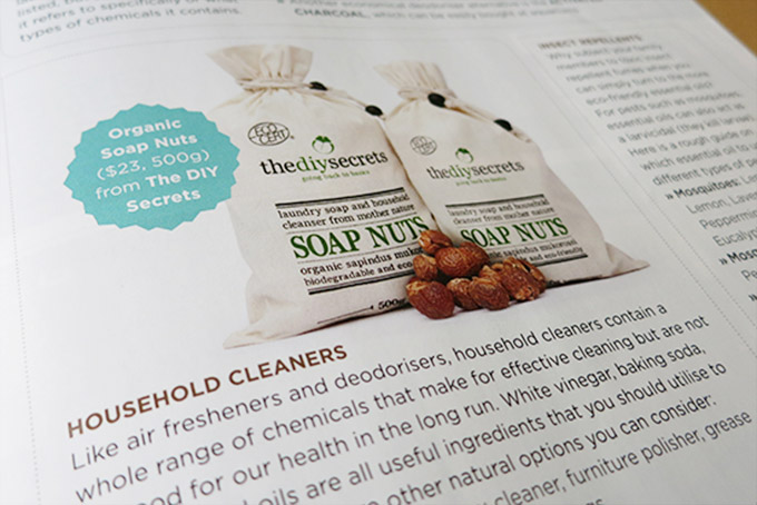 The DIY Secrets Soap Nuts is featured on RenoNation